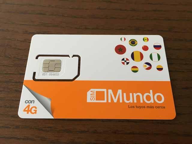 OrangeのプリペイドSIMカード