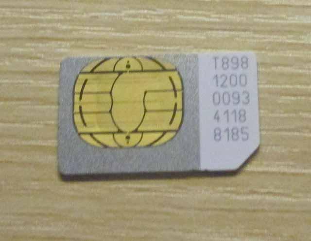 DigiのSIMカード