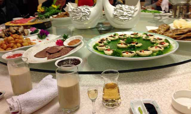 昆明ホテルで食べた中華料理
