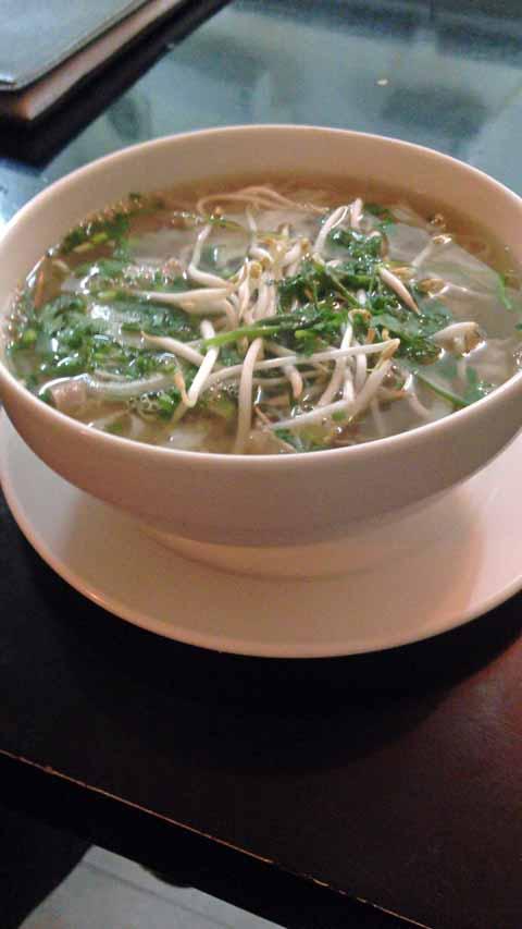 牛肉のフォーベトナム料理