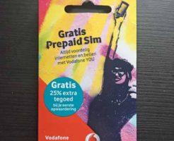 オランダvodafone Simカード
