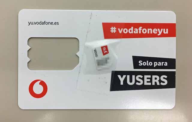 マドリード市内simカード