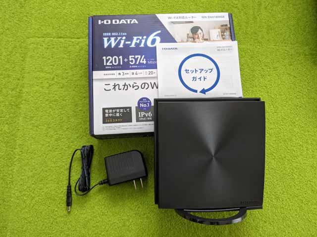 アイ・オー・データ(I-O DATA)WN-DAX1800GR