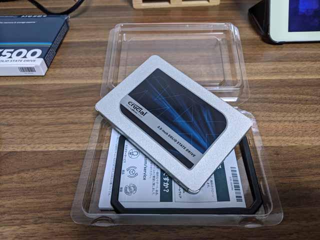 Crucial MX500 1TB 2.5インチ 内蔵SSD
